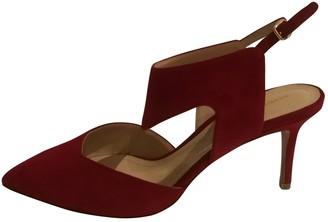 Nicholas Kirkwood Red Suede Sandals