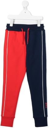The Marc Jacobs Kids Colour Block Track Pants