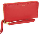 Vera Bradley Sycamore Leather RFID Accordian Wallet- Mallory