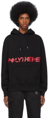 Polythene* Optics Black Pockets Hoodie