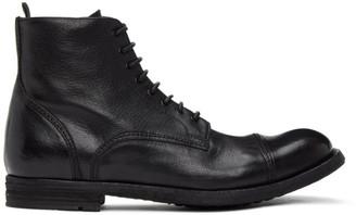 Officine Creative Black Journal 3 Boots