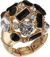 GUESS Clustered Stone Dome Ring