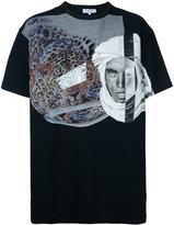 Les Benjamins leopard print T-shirt - men - Cotton/Spandex/Elastane - XL