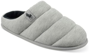 Polo Ralph Lauren Men's Emery Quilted Clog Slippers
