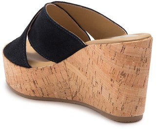 Cordani Jan Suede Wedge Sandal
