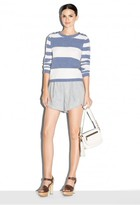 Milly Cashmere Stripe Sweater