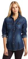 Women's Woven Long Sleeve Shirt