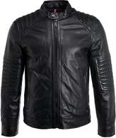 Strellson HANN Leather jacket black