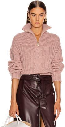 Nanushka Eria Sweater in Pale Pink | FWRD