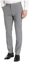 Perry Ellis Portfolio Slim Fit Heathered Check Dress Pants (Castlerock) Men's Dress Pants