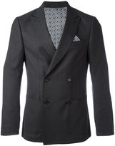 Z Zegna double breasted blazer - men - Cotton/Cupro/Wool - 46