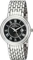 Lucien Piccard Women's LP-16539-11 Fantasia Analog Display Quartz Silver Watch