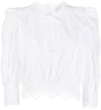 IRO Avil lace blouse