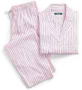 Ralph Lauren Petite Striped Lawn Pajama Set