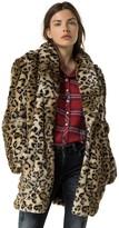 Tommy Hilfiger Leopard Coat