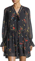 Laundry by Shelli Segal Floral-Print Drop-Waist Dress