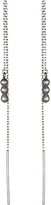 Satya Jewelry Mini Chain Earrings with Beads
