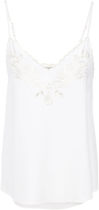 Stella McCartney Broderie Anglaise Stretch-crepe Camisole