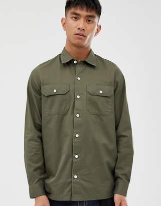 Carhartt Wip Master long sleeve shirt-Green