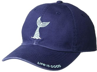 Life is Good Mermaid Chill Cap (Toddler/Little Kids/Big Kids) (Darkest Blue) Caps