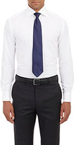 Piattelli MEN'S COTTON POPLIN DRESS SHIRT