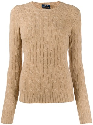 Polo Ralph Lauren fitted cable-knit sweater