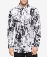 Calvin Klein Men's Shattered Print Shirt