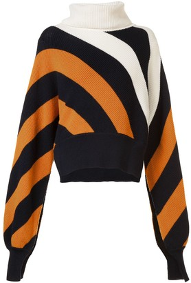 Monse striped turtleneck jumper