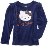 Hello Kitty Evy of California Print Top, Little Girls (4-6X)