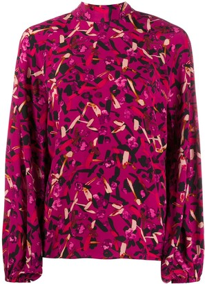 Dorothee Schumacher Abstract Print Blouse