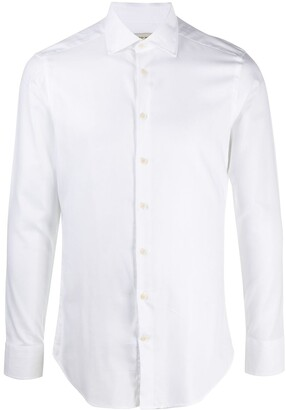 Etro Spread-Collar Long Sleeved Shirt