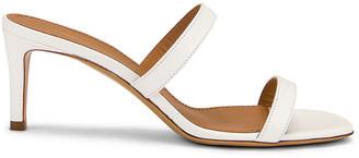 Mansur Gavriel Fino Sandal in White | FWRD