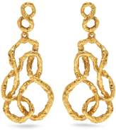 Oscar de la Renta Entangled drop earrings