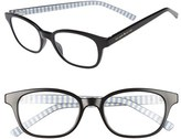 Kate Spade Women's Kya 49Mm Reading Glasses - Black
