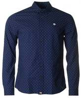 Pretty Green Long Sleeved Polka Dot Shirt