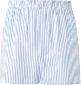 Sunspel striped boxers - men - Cotton - L