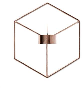 Kadell Geometric Candle Holder 3D Stereo Home Wall Decor Handmade Home Ornaments Candleholder Christmas Gift