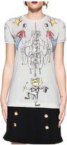 Dolce & Gabbana Light Gray Wonderland Jersey T-shirt