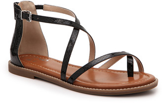 Mix No. 6 Women's Pura Sandals Black Size 5 Faux Leather From Sole Society