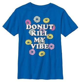 Fifth Sun Boys' Tee Shirts ROYAL - Royal 'Donut Kill My Vibe' Tee - Boys