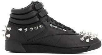 Junya Watanabe x Reebok studded hi-top sneakers