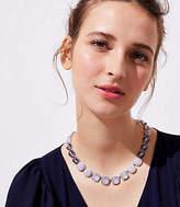 LOFT Iridescent Gem Necklace