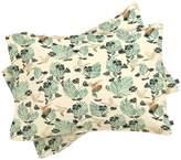 Deny Designs Hum Pillowcases (Set of 2)