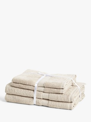 John Lewis & Partners Colour Defence 4 Piece Towel Bale