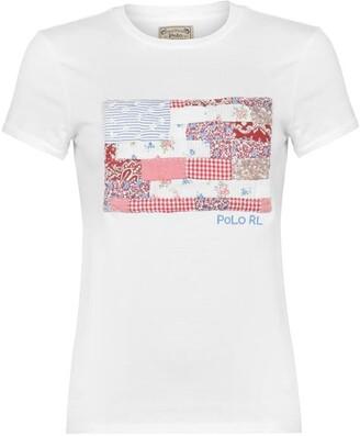 Polo Ralph Lauren Patchwork Flag T-Shirt