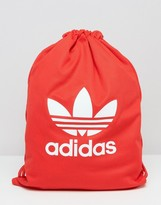 adidas Tricot Drawstring Backpack