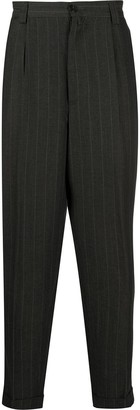 Dries Van Noten Pre Owned 1990s Pinstriped Tailored Trousers