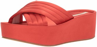 Kenneth Cole New York Women's Damariss Platform X-Band Slip On Sandal Slide