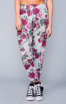 MUMU Hall Pants ~ Vintage Rose French Terry
