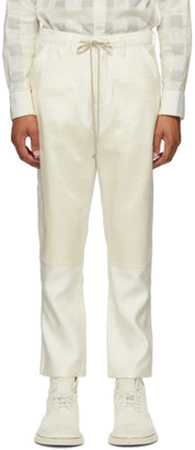 Stay Made SSENSE Exclusive Off-White Carpenters Patch Trousers